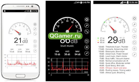 ТОП-5 приложение для качественного измерения шума для Андроид